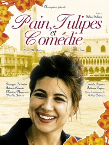 Affiche Pain et tulipes