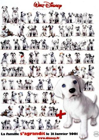 Affiche 102 Dalmatiens (Les)