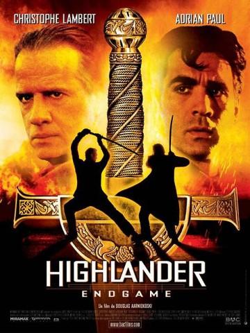 Affiche Highlander Endgame