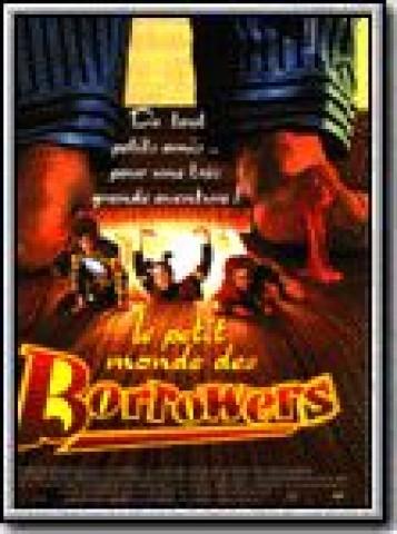 Affiche Petit Monde des Borrowers (Le)