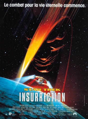 Affiche Star Trek Insurrection
