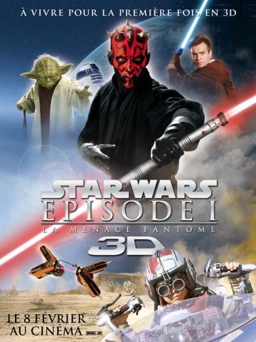 Affiche Star Wars - Episode 1: La menace fantôme
