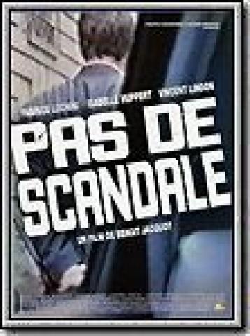 Affiche Pas de scandale