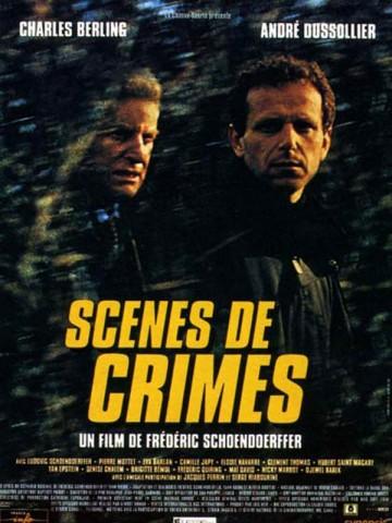 Affiche Scènes de crimes