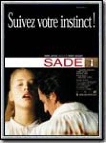 Affiche Sade