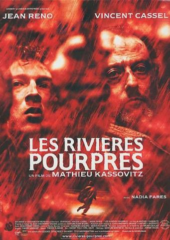 Affiche Rivières pourpres (Les)