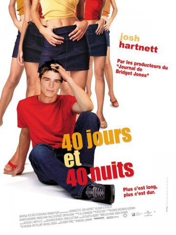 Affiche 40 jours et 40 nuits