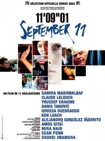 Affiche 11'09''01 - Septembre 11