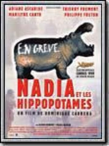 Affiche Nadia et les hippopotames