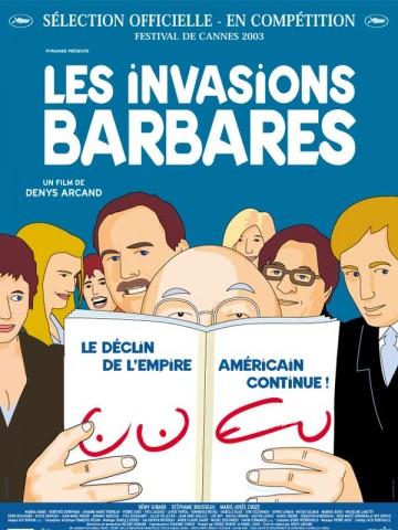 Affiche Invasions barbares (Les)