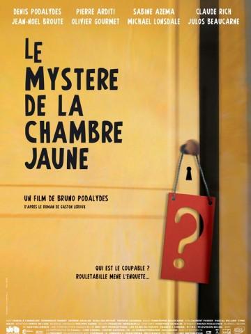 Affiche Mystère de la chambre jaune (Le)