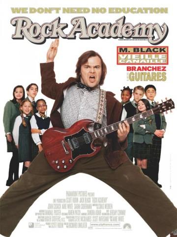 Affiche Rock Academy