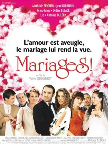 Affiche Mariages!