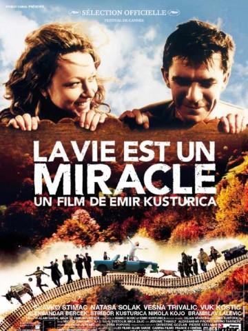 Affiche Vie est un miracle (La)