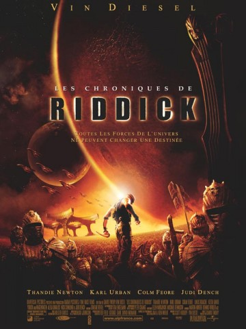 Affiche Chroniques de Riddick (Les)
