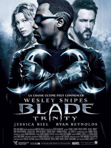 Affiche Blade Trinity