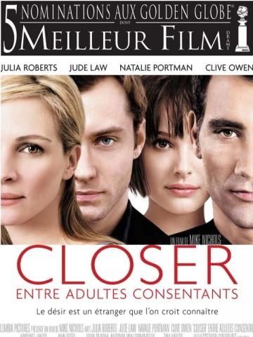 Affiche Entre adultes consentants - Closer