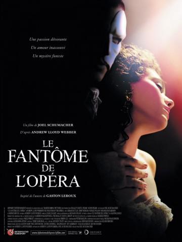 Affiche Fantôme de l'opéra (Le)