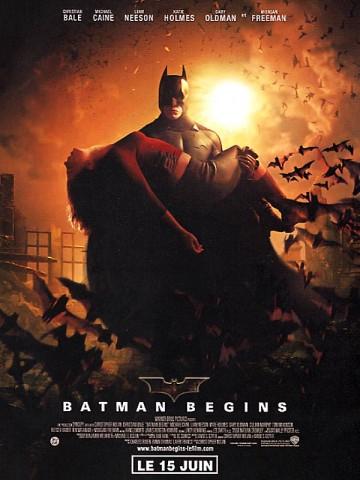 Affiche Batman Begins