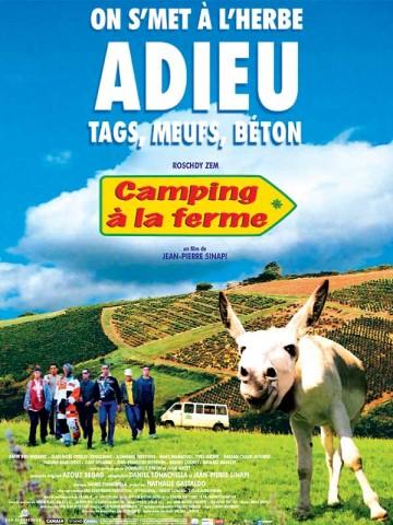 Affiche Camping à la ferme