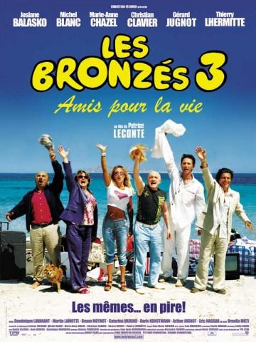 Affiche Bronzés 3 (Les) - Amis pour la vie