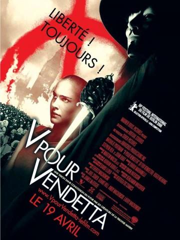 Affiche V pour Vendetta