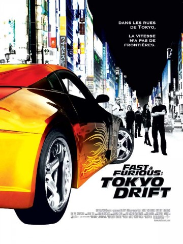 Affiche Fast & Furious: Tokyo Drift