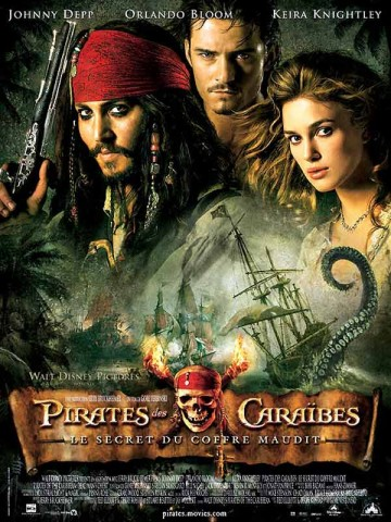 Affiche Pirates des Caraïbes: le secret du coffre maudit