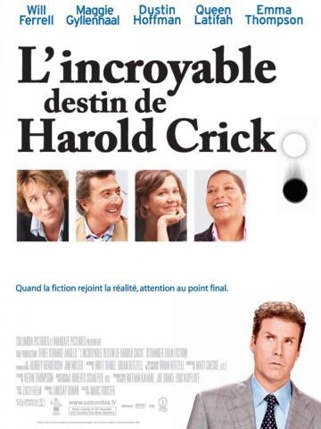Affiche Incroyable Destin de Harold Crick (L')
