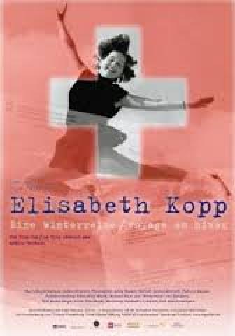 Affiche Elisabeth Kopp - Voyage en hiver