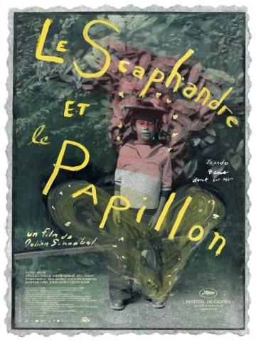 Affiche Scaphandre et le Papillon (Le)