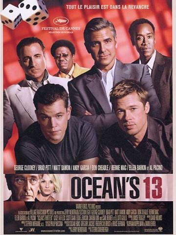 Affiche Ocean's Thirteen