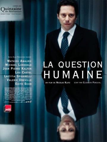 Affiche Question humaine (La)