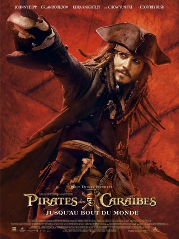 Affiche Pirates des Caraïbes 3: jusqu'au bout du monde