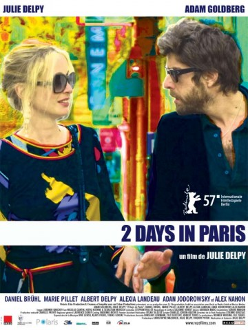 Affiche Deux jours à Paris (2 Days in Paris)