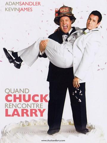 Affiche Quand Chuck rencontre Larry