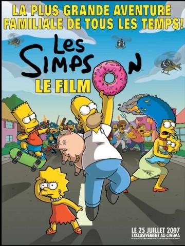 Affiche Simpson (Les) - le film
