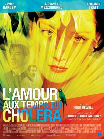 Affiche Amour aux temps du choléra (L')