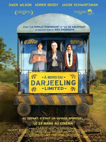 Affiche A bord du Darjeeling Limited