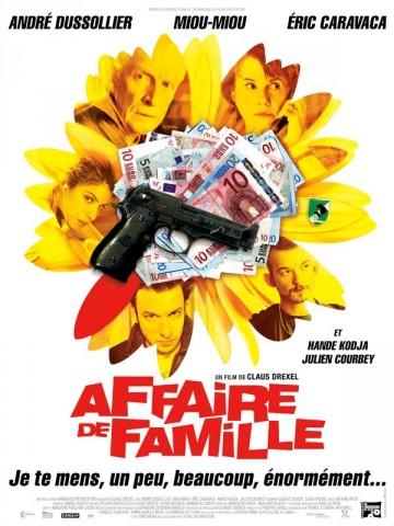 Affiche Affaire de famille