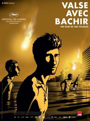 Affiche Valse avec Bachir
