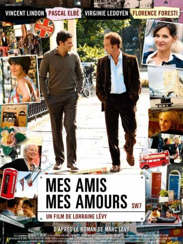 Affiche Mes amis, mes amours