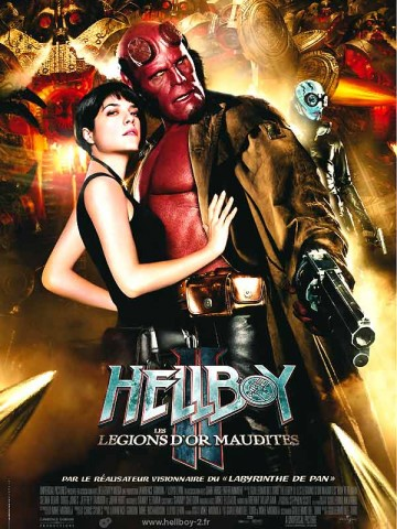 Affiche Hellboy II - Les légions d'or maudites