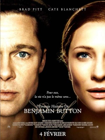 Affiche Etrange Histoire de Benjamin Button (L')