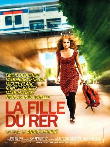 Affiche Fille du RER (La)