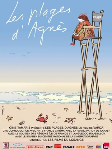 Affiche Plages d'Agnès (Les)