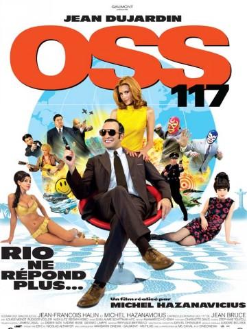 Affiche OSS 117: Rio ne répond plus