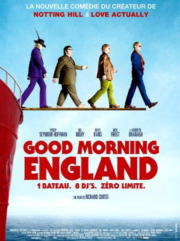 Affiche Good Morning England