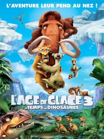 Affiche Age de glace 3 (L') - Le temps des dinosaures