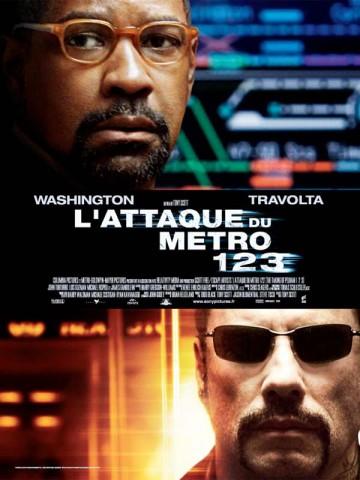 Affiche Attaque du métro 123 (L')